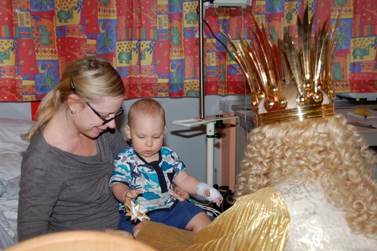 Himmlischer Besuch in der Cnopf\'schen Kinderklinik: klinik ...